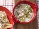 Pastasauce mit Sellerie, Meerrettich Rezept