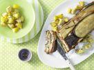 Pastete mit Auberginen und Rosmarinkartoffeln Rezept
