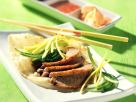 Peking Ente mit Pittabrot Rezept