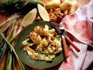 Pellkartoffeln mit Schmorgurken-Pfifferling-Gemüse Rezept