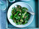 Perlgraupensalat mit grünem Gemüse und Minze Rezept