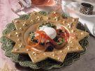 Petersilien-Crostini mit pochiertem Ei Rezept