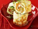 Pfannkuchen mit Frischkäse-Lachs-Füllung Rezept