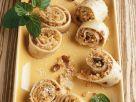 Pfannkuchen mit Kokosfüllung Rezept