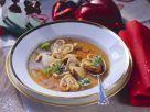 Pfannkuchen-Pilzsuppe Rezept