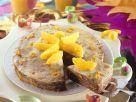 Pfannkuchentorte mit Orangen Rezept