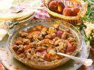 Pfirsich-Auflauf auf amerikanische Art Rezept