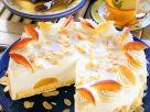 Pfirsich-Käsesahnetorte Rezept