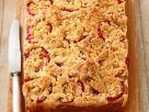 Pflaumen-Hefekuchen mit Streuseln Rezept
