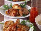 Pikante Hähnchenteile mit Sesam Rezept