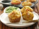 Pikante Muffins mit Surimi Rezept