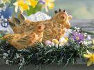 Pikantes Blätterteiggebäck zu Ostern Rezept