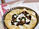 Pilz-Feta-Kuchen Rezept