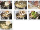 Pilz-Spinat-Risotto Rezept