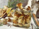 Pilze in süßer Marinade Rezept