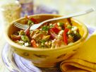 Pistazien-Gemüse-Taboulé mit Lammfilet Rezept