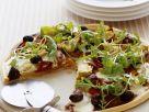 Pizza mit Artischocken Rezept