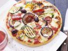 Pizza mit Grillgemüse Rezept
