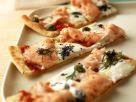 Pizza mit Lachs Rezept