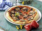 Pizza mit Wildkräutern Rezept