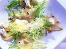 Pochierte Weißwein-Birnen mit Gorgonzola Rezept