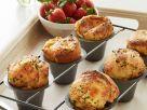 Popovers mit pikanter Erdbeersauce Rezept