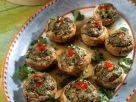 Portobello mit Hack-Shrimps-Füllung Rezept