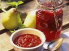 Birnen-Preiselbeer-Konfitüre Rezept