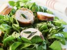 Pute mit Rohschinkenmantel und Feldsalat Rezept