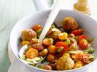 Putenbällchen-Tomaten-Pfanne Rezept