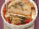 Putenbraten auf Tomatenbett Rezept