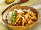 Putengeschnetzeltes in Tomaten-Curry-Sauce Rezept