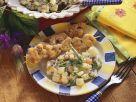Putenspieße mit Kartoffelsalat Rezept