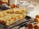 Quark-Aprikosen-Kuchen mit Streuseln Rezept