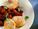 Quarkkeulchen mit Roter Grütze Rezept