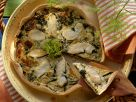 Quiche mit Kabeljau Rezept