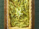 Quiche mit Ricotta und Basilikum Rezept
