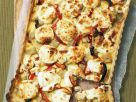 Quiche mit Süßkartoffeln und Ziegenkäse Rezept