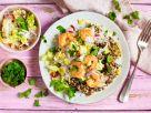 Quinoa mit Garnelen und Chili-Gemüse Rezept