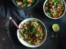 Quinoa-Taboulé mit Grünkohl Rezept
