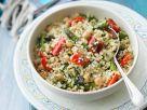 Quinoasalat mit Gemüse Rezept