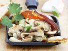 Raclette mit Champignons und Mozzarella Rezept