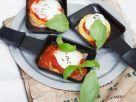 Raclette mit Polenta-Caprese Rezept