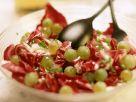 Radicchio-Trauben-Salat Rezept