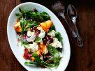 Radicchiosalat mit Pfirsich und Mozzarella Rezept