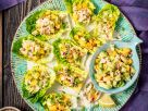 Räucherforellen-Tatar mit Avocado-Mango-Salsa Rezept