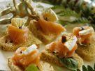 Räucherlachs-Käse-Häppchen Rezept