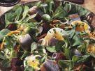 Rapunzelsalat mit Hering und Roter Bete Rezept