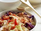 Reis mit Gemüse, Kohl und Paprika Rezept