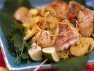Reis mit Meeresfrüchten auf karibische Art Rezept